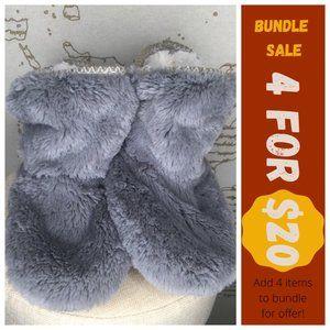 ALDI Women's Size 9/10 Fuzzy Booties Slippers